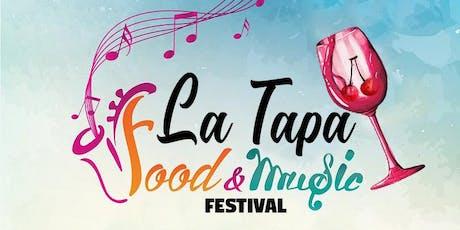 Madrid Food & Music Festival La Tapa entradas