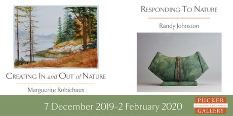 Randy Johnston and Marguerite Robichaux Opening Reception tickets