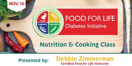 Diabetes Nutrition & Cooking Class