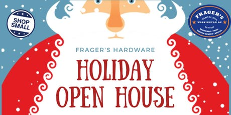 Frager's Holiday Open House with Santa tickets