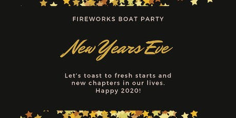 New York City New Years Eve Fireworks Boat Party tickets