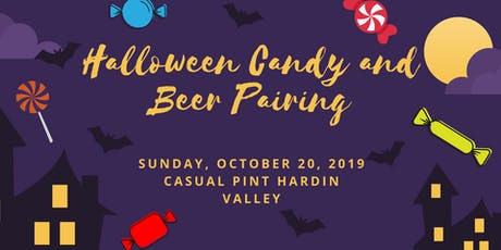 Halloween Candy and Beer Pairing tickets