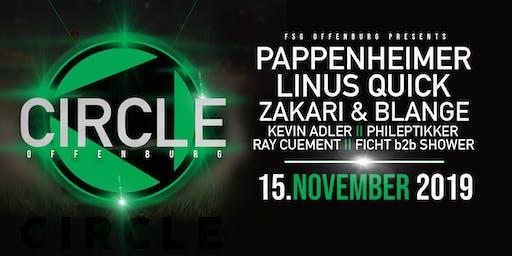 Pappenheimer, Linus Quick, Zakari & Blange, uvm @ Circle Offenburg 15.11.19