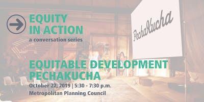 MPC Urban Think & Drink: Equitable Development PechaKucha