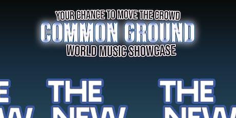 Common Ground - THE NEW SCHOOL tickets
