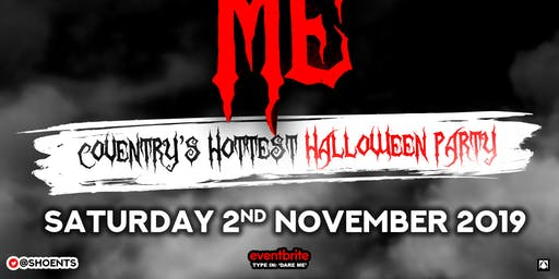 Dare Me - Cov's Hottest Halloween Party