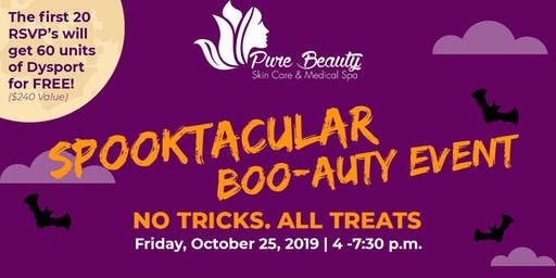 Spooktacular Boo-Auty Event