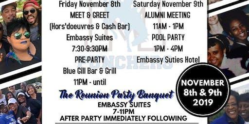"""MIFFLIN REUNION PARTY """"WE BLEED BLUE"""" WEEKEND!"""