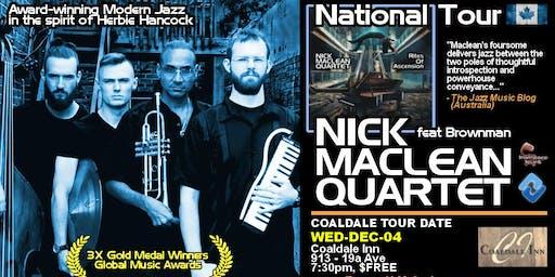 NICK MACLEAN QUARTET feat. BROWNMAN ALI (Coaldale)