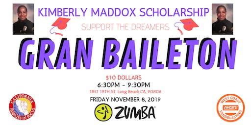 Kimberly Maddox youth scholarship ZUMBATHON