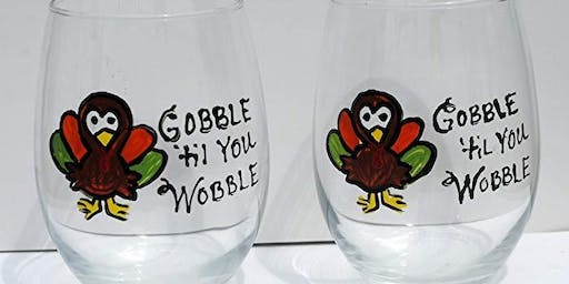 Holiday Wine Glass Painting! 11/3