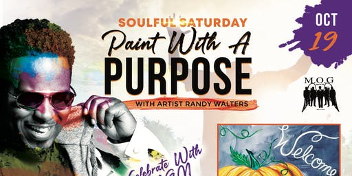 """Soulful Saturday"" Paint with A Purpose with host Randy Walters"