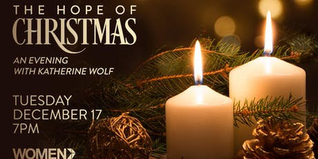 The Hope of Christmas...an Evening with Katherine Wolf tickets