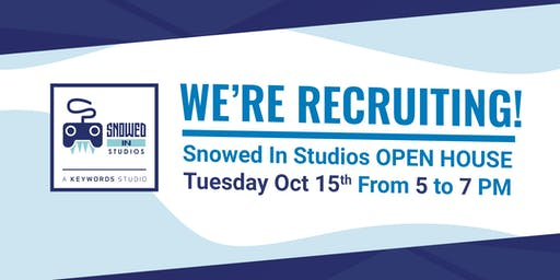 Open House at Snowed In Studios