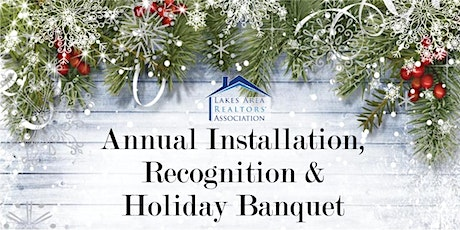 LARA Annual Installation, Recognition and Holiday Banquet tickets