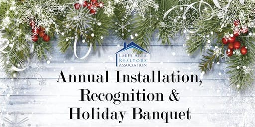Annual Installation, Recognition and Holiday Banquet