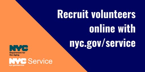 Online Volunteer Recruitment with NYC Service