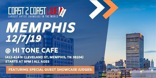 Coast 2 Coast LIVE Artist Showcase Memphis, TN - $50K Grand Prize