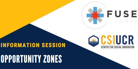 Opportunity Zones Info Session tickets