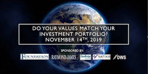 Do your values match your investment portfolio?