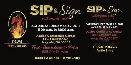 Sip & Sign w/Sereniti Hall tickets