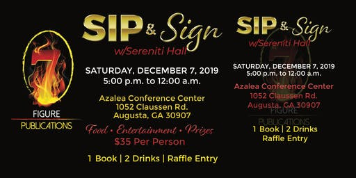 Sip & Sign w/Sereniti Hall
