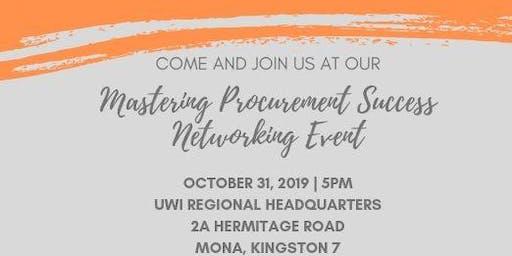 Mastering Procurement Success Networking Event