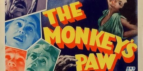 The Monkey's Paw - October 16th, 2019 tickets