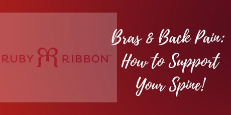 Bras & Back Pain: How to Support Your Spine tickets