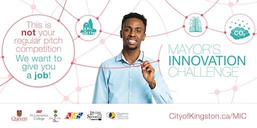 Mayor's Innovation Challenge Workshop - Queen's University