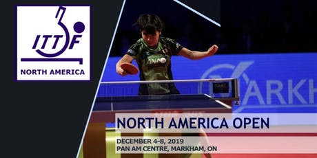 North America Table Tennis Open - Day 1 (Qualifications) tickets