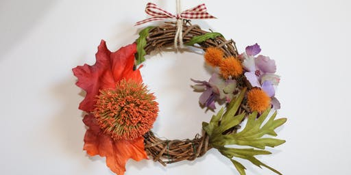 Make Your Own Fall Wreath Workshop