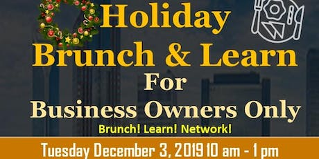 The Charlotte Post  Holiday Brunch  and Learn For Business Owners tickets
