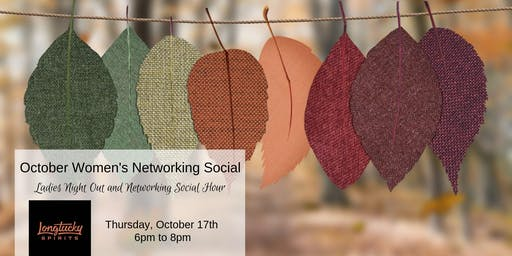 October Women In Business Networking Social