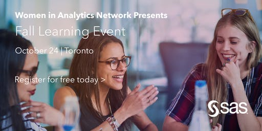 SAS Women in Analytics: Fall Learning Event