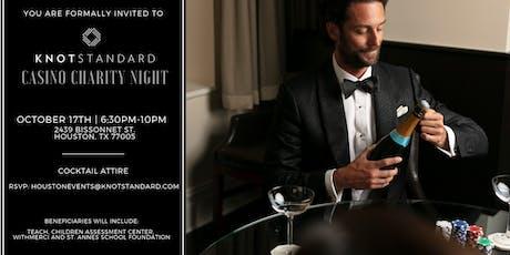 KNOTSTANDARD Casino Charity Night tickets