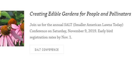 Creating Edible Gardens for People and Pollinators | Annual SALT Conference