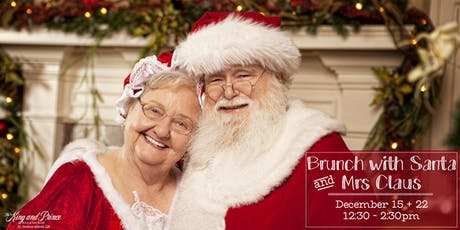 Christmas Brunch with Santa + Mrs Claus at The King and Prince (Dec 22) tickets
