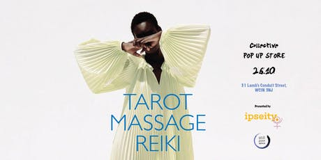 TAROT, MASSAGE AND REIKI tickets