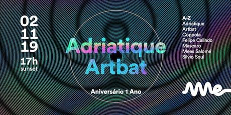 Ame Club Bday com Adriatique e Artbat ingressos