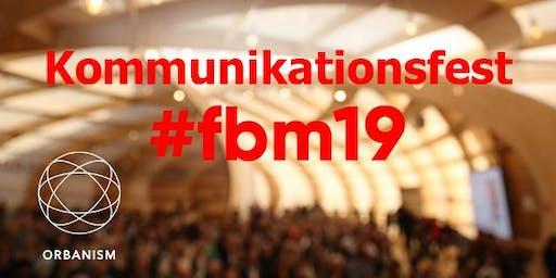 ORBANISM-Kommunikationsfest auf der Frankfurter Buchmesse