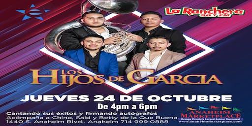 Los Hijos De Garcia: Meet & Greet