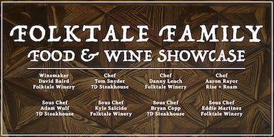 Folktale Family Food & Wine Showcase Dinner