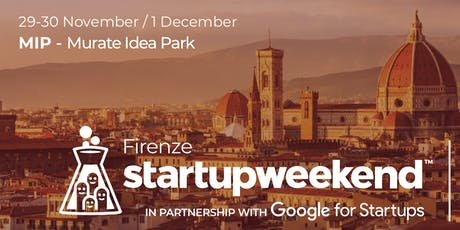 Techstars Startup Weekend Firenze tickets