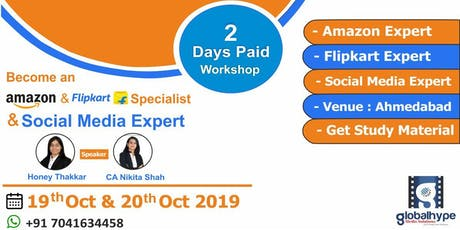 Become an Amazon & Flipkart Specialist & Social Media Expert tickets