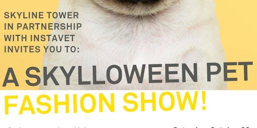Skylloween Pet Fashion Show!