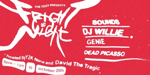 FRIGHT NIGHT Presented by VHS TEEZY