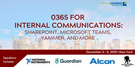 O365 for Internal Communications: SharePoint, Microsoft Teams, Yammer, and More tickets