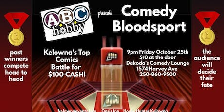 ABC Hobby presents Comedy Bloodsport tickets
