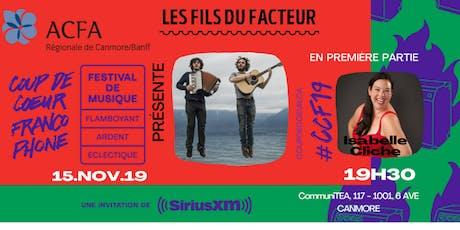 COUP DE COEUR FRANCOPHONE tickets